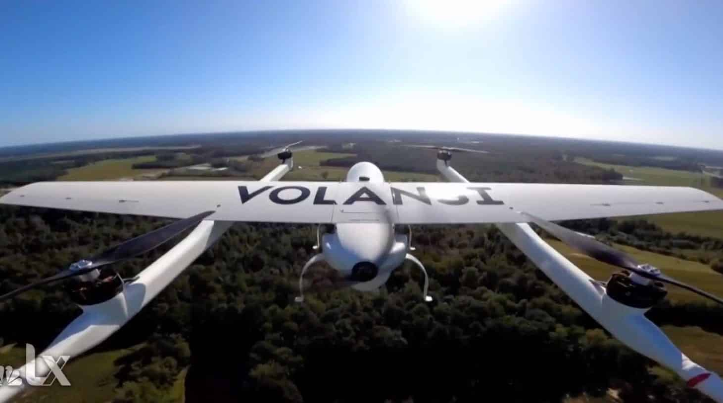 Delivering COVID-19 vaccines by drone, Volansi's Hannan Parvizian explains