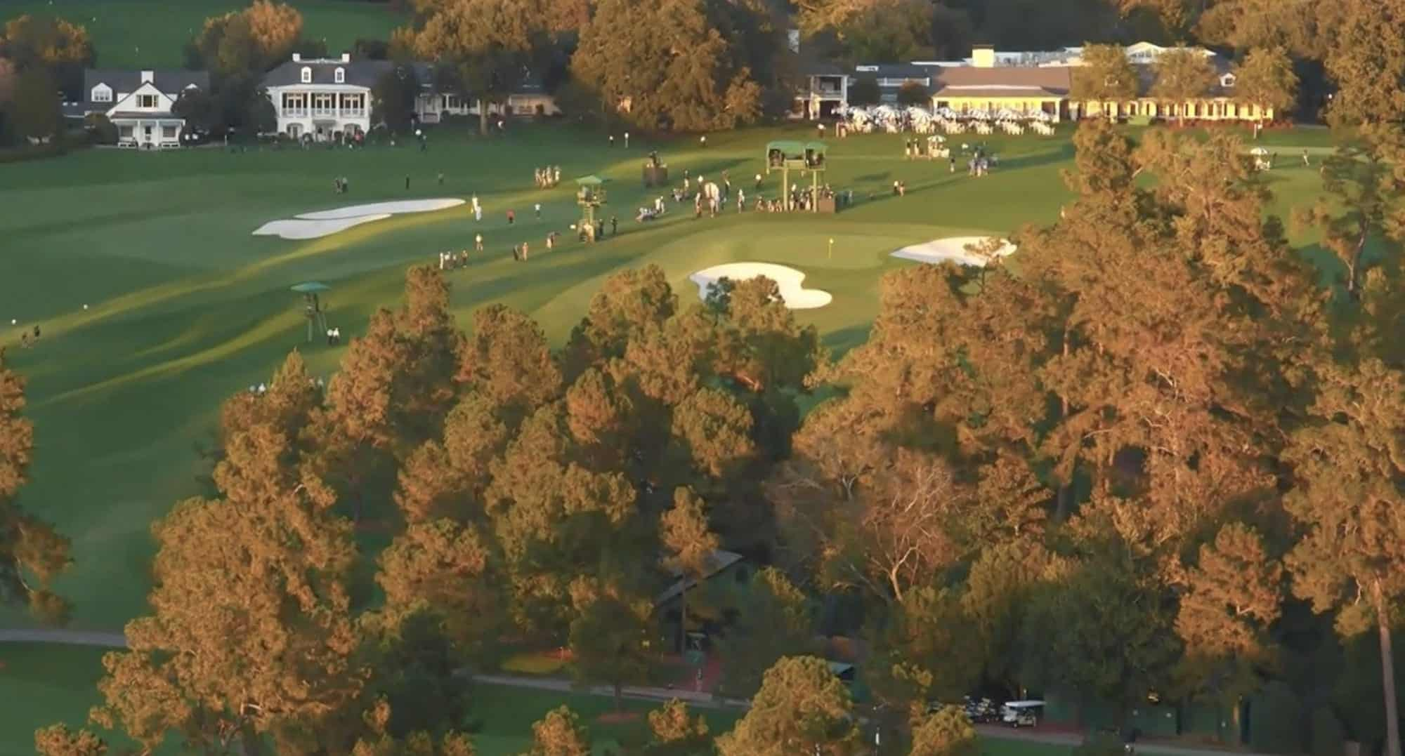 Drones at Augusta National show the Masters like never before