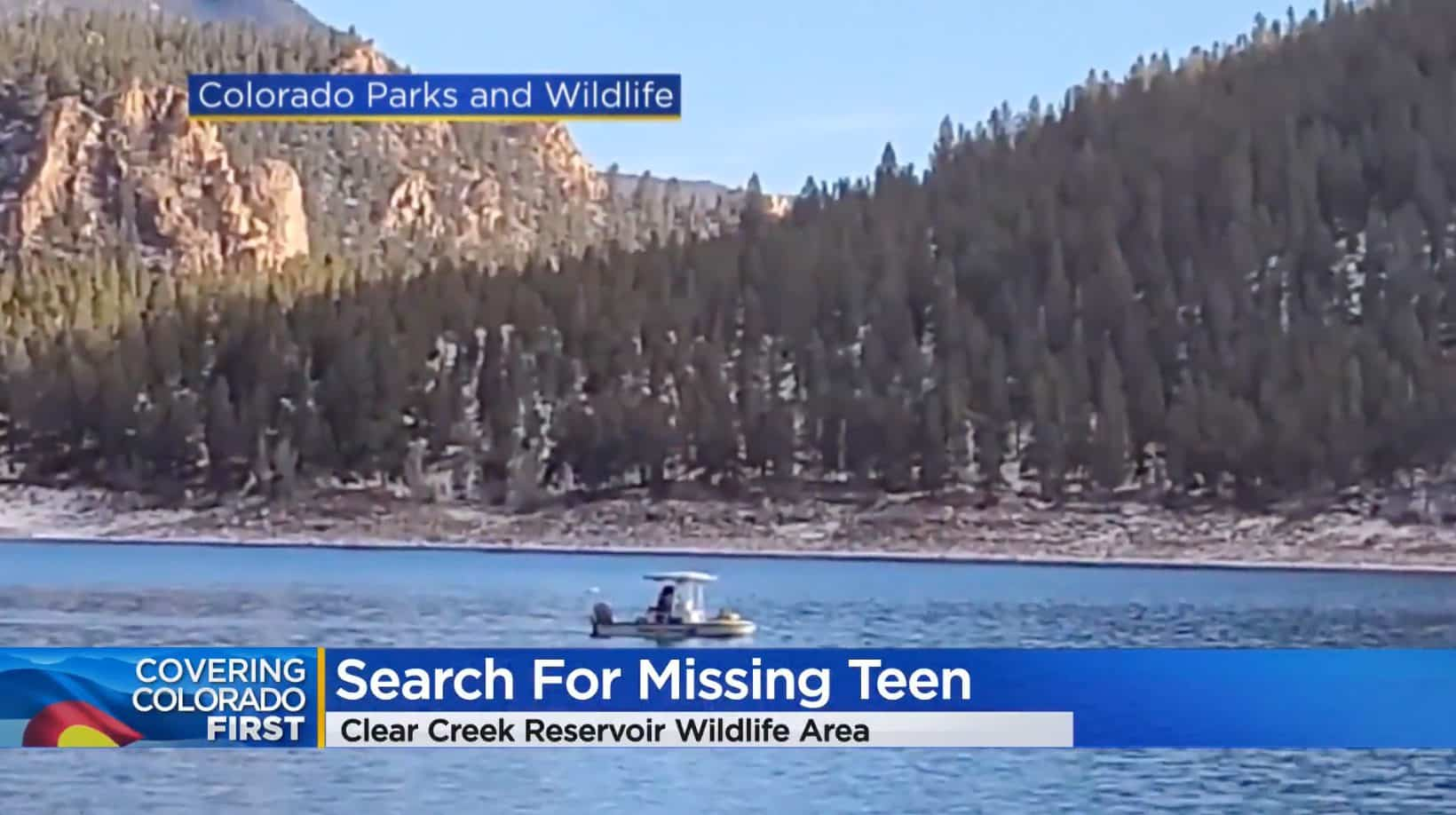 Drone used in search for missing teen at Clear Stream Reservoir