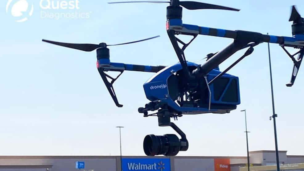 Walmart drone delivery COVID-19 test kits extends to El Paso, TX