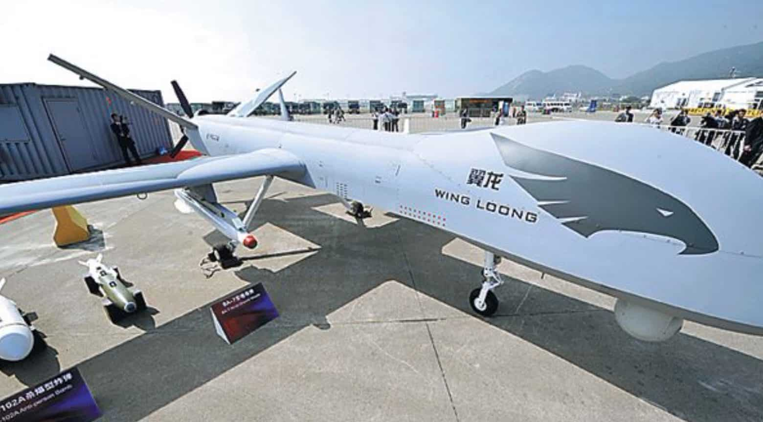 China is a major exporter of armed drones