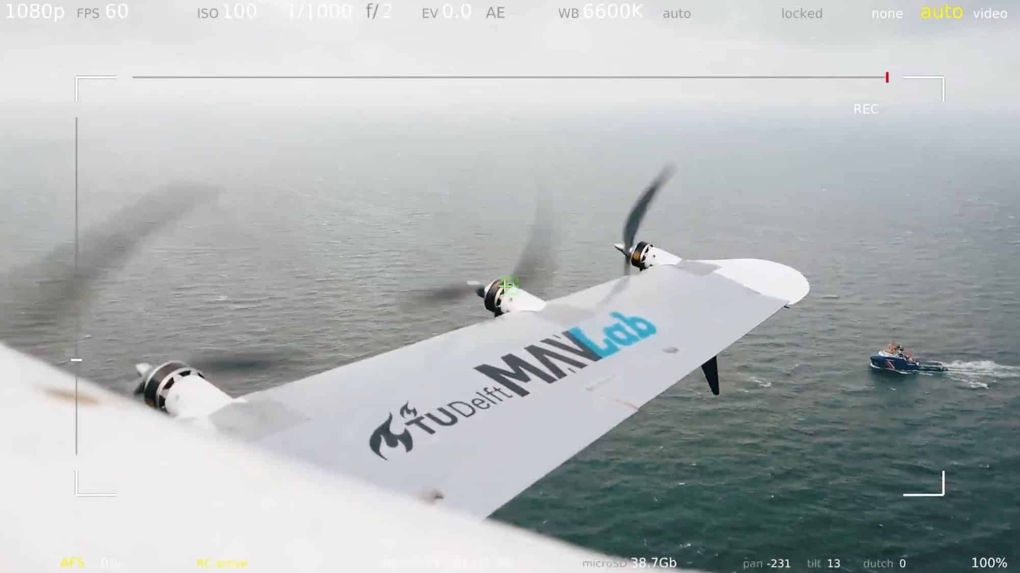 Dutch hybrid hydrogen drone makes successful test flight