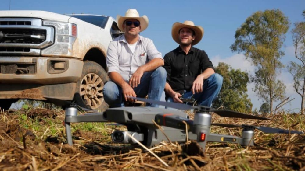 A DJI drone to herd cattle and even camels