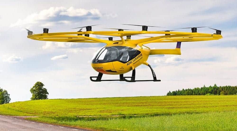 German emergency response organization orders Volocopter air ambulances