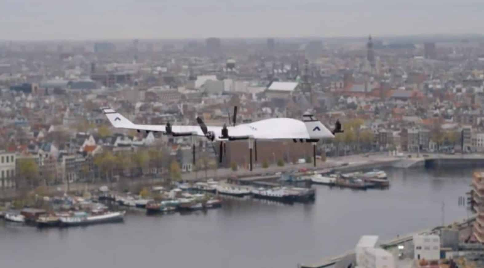 Amsterdam opens urban test center for drones