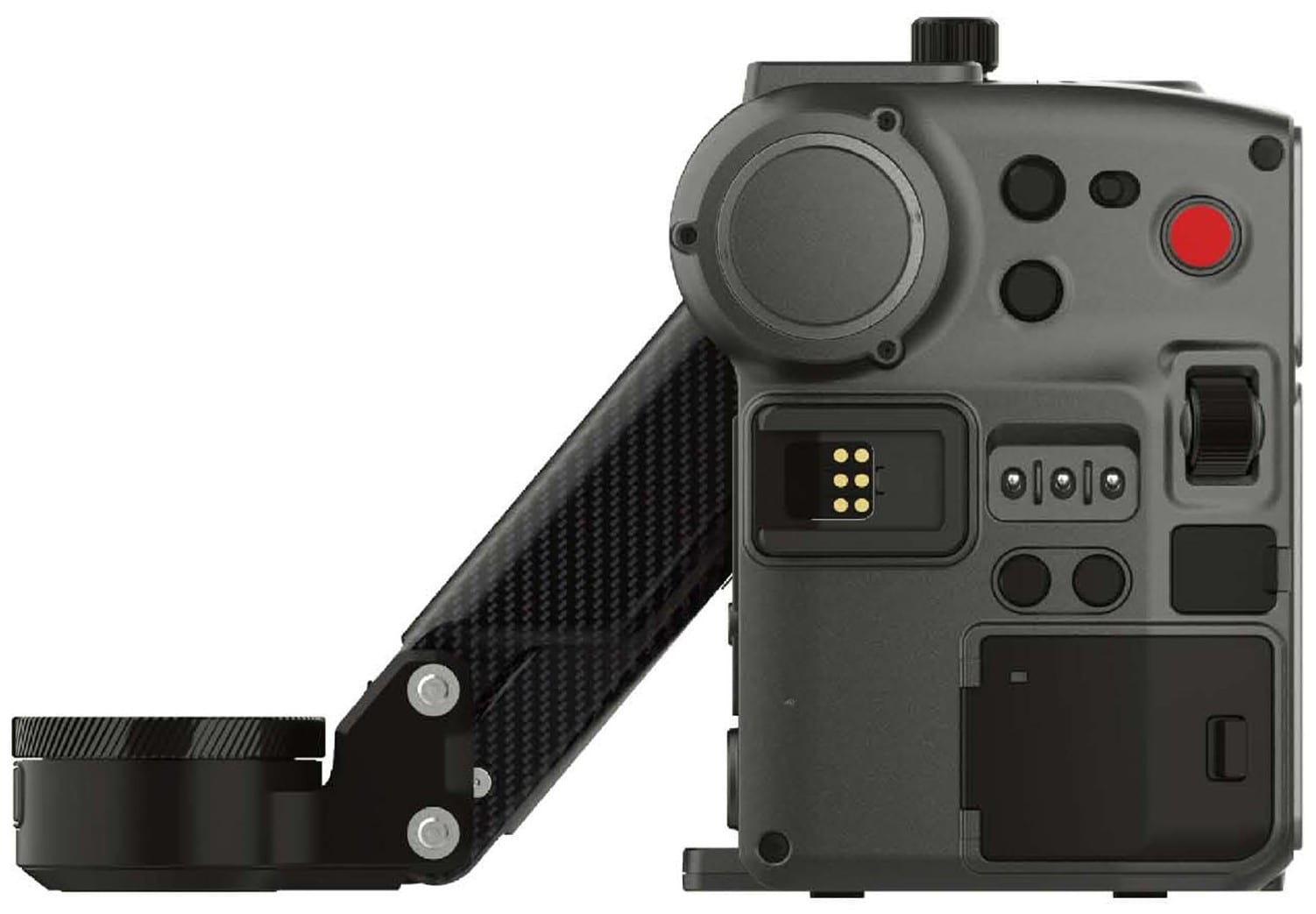 DJI X7 ground-based camera shows in leaked photos