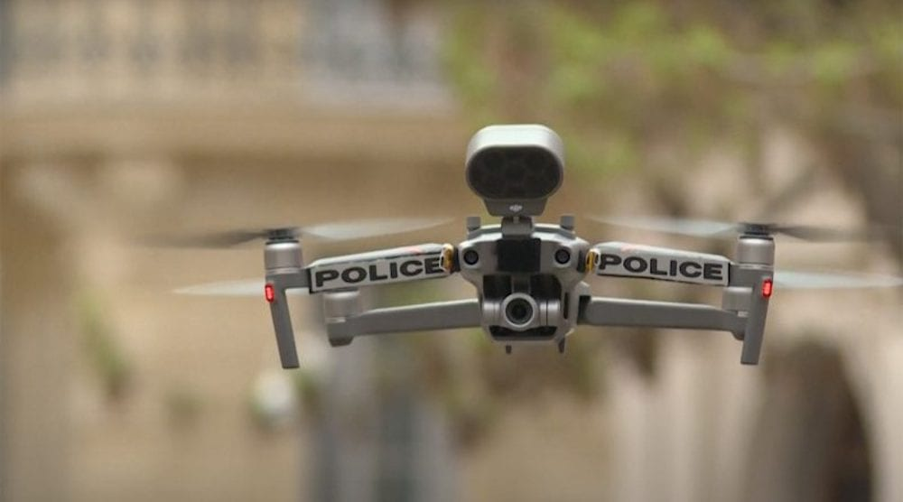 French police banned from using drones to monitor demonstrations