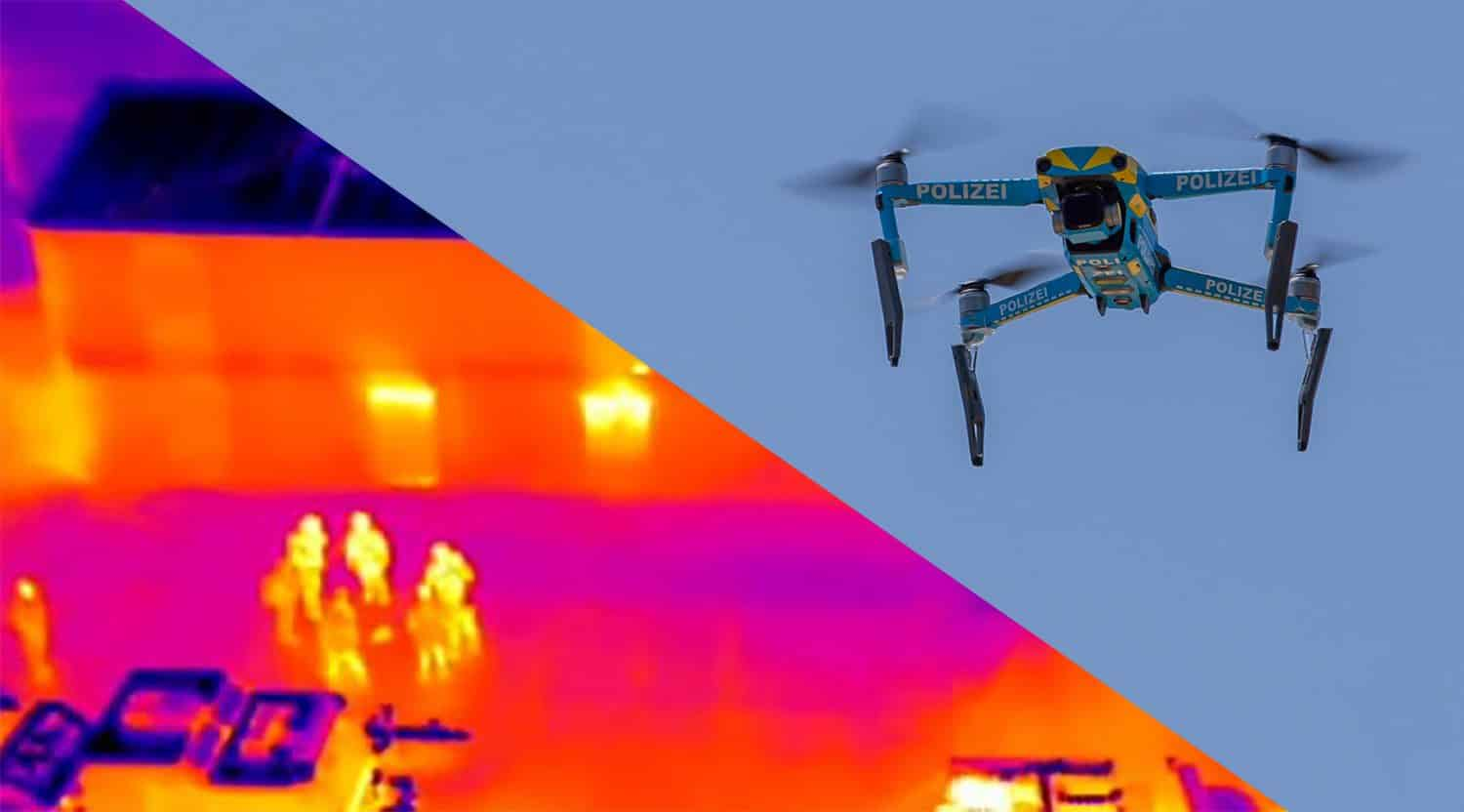 Increasing criticism of surveillance by police drones; Belgium starts privacy research