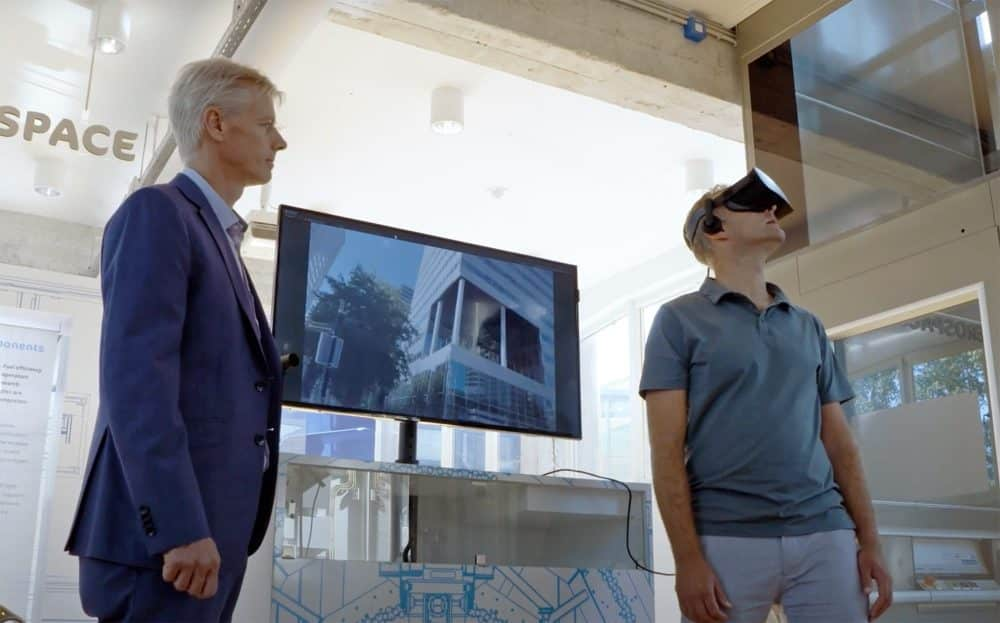 NLR VR simulator lets you experience drone flyover sounds in a city