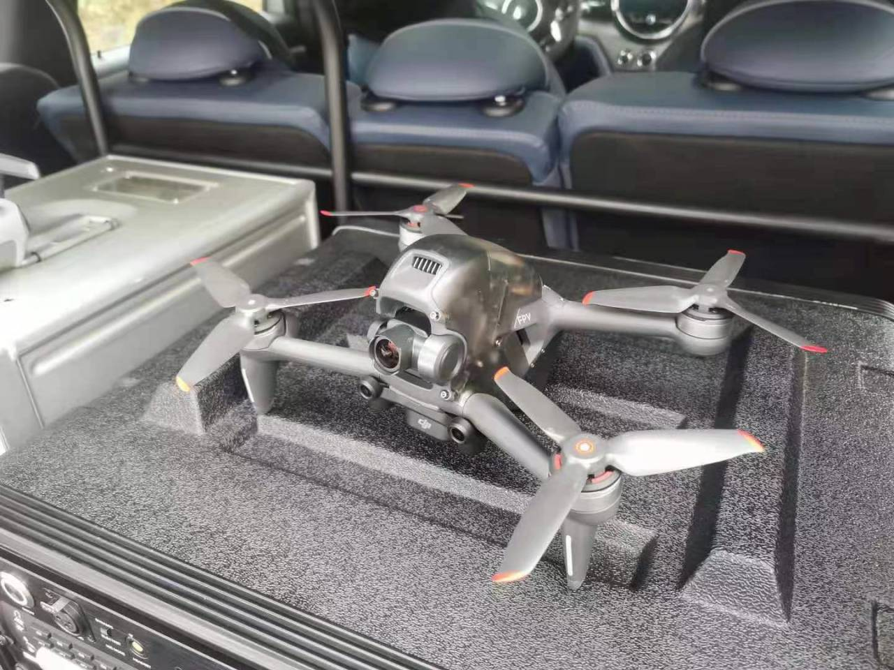 New photo leaked of DJI's upcoming FPV drone