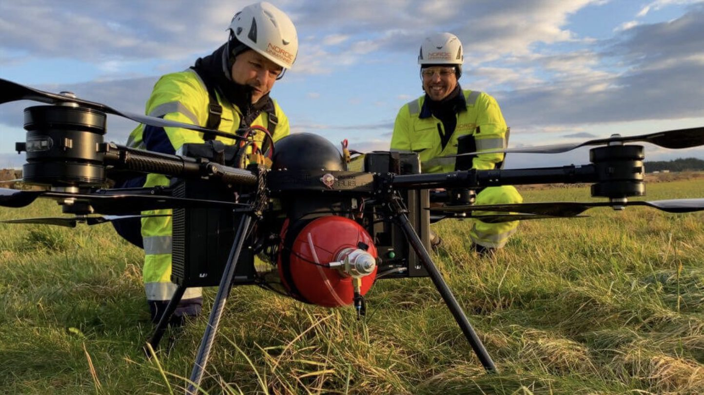 Nordic Unmanned AS completed successful hydrogen drone flight