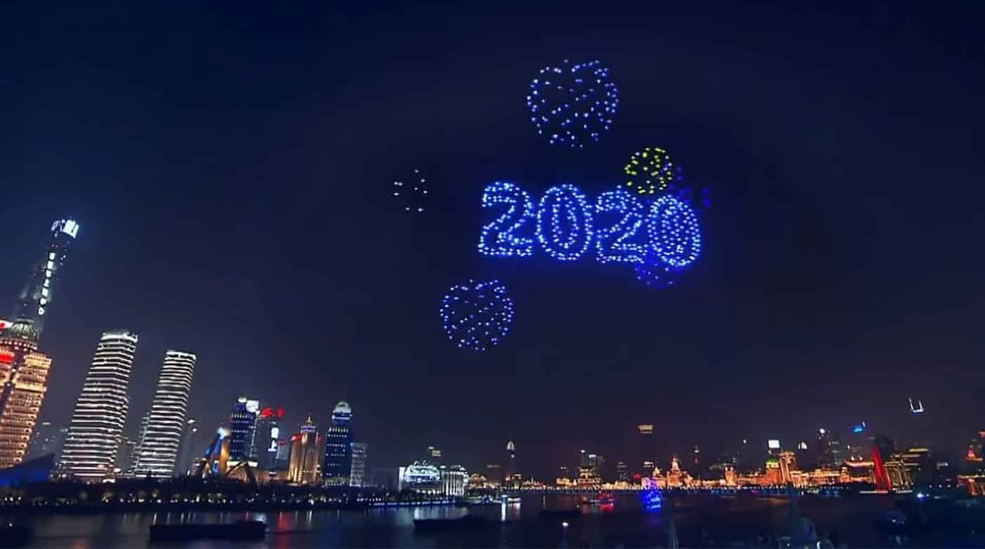 Rotterdam will usher in the new year with a drone show
