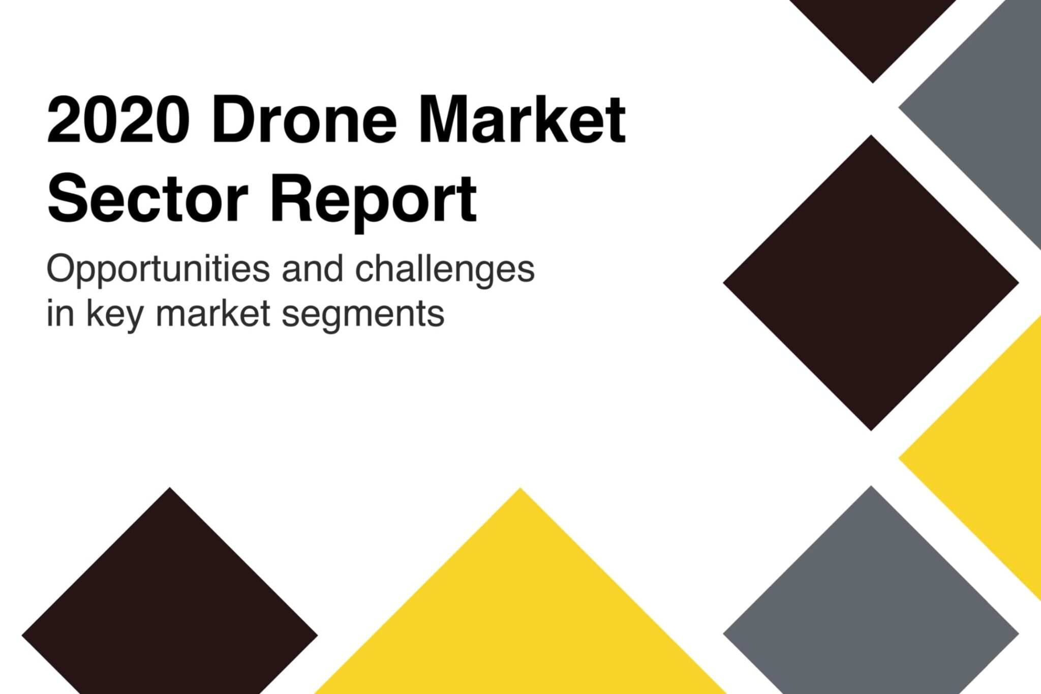 2020 drone industry trends outlined in new DroneAnalyst Report