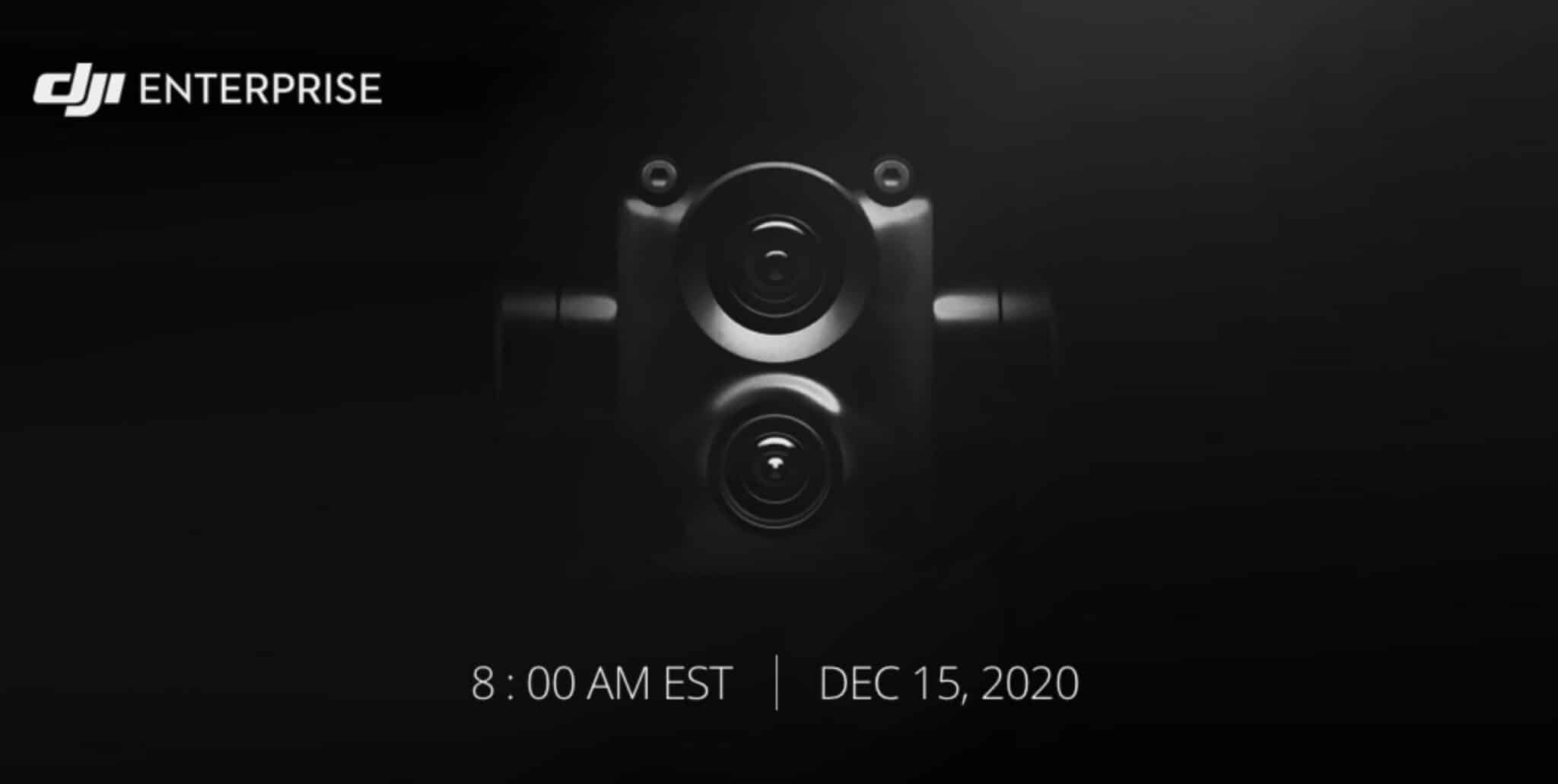 DJI teaser. Possible new zoom camera for Mavic 2 Enterprise?