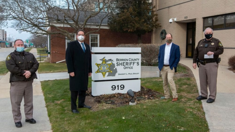 Berrien County Sheriff's Office's buys thermal police drone with donations