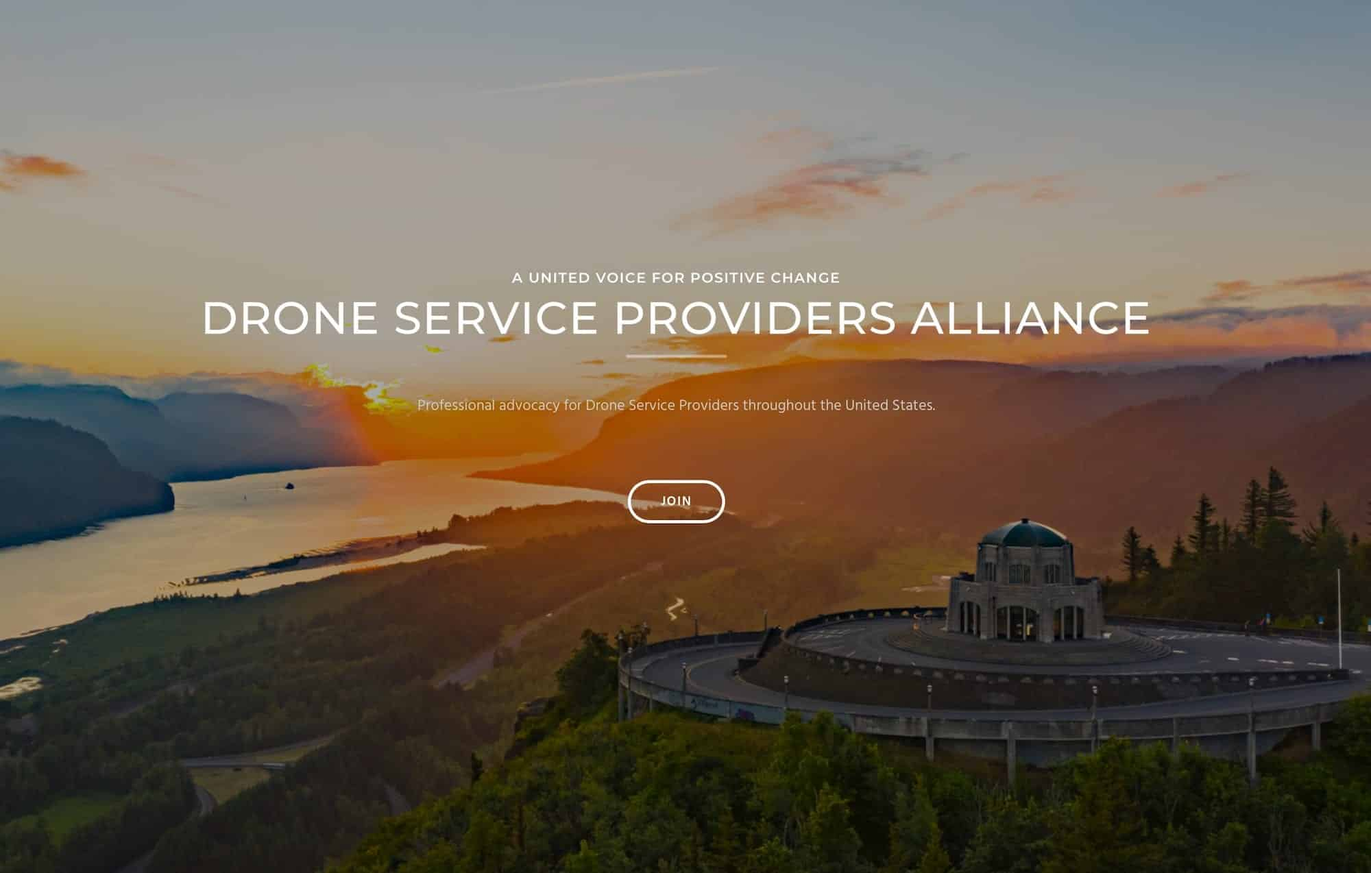 The Drone Service Providers Alliance officially launches today