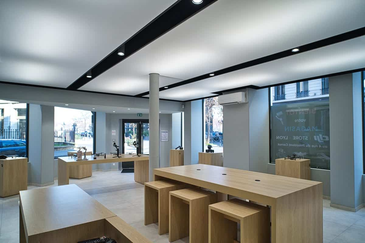 DJI opens new store in Lyon, France