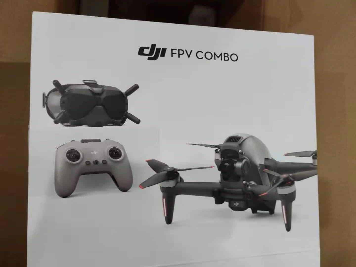 DJI FPV Drone leaked photos - DJI FPV Goggles V2 and DJI FPV Remote Controller 2 confirmed in FCC filings
