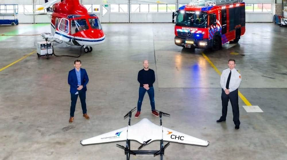 Drone should detect forest and wildfires at an early stage
