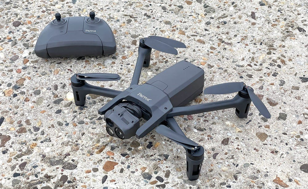Parrot Anafi USA review: thermal inspection drone - Blue sUAS