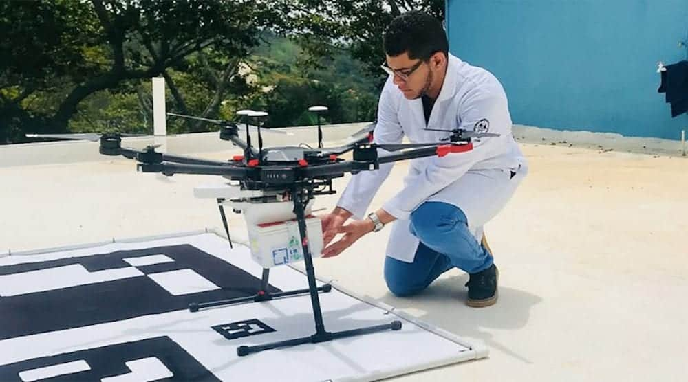 Pfizer wants to distribute COVID-19 vaccines by drone