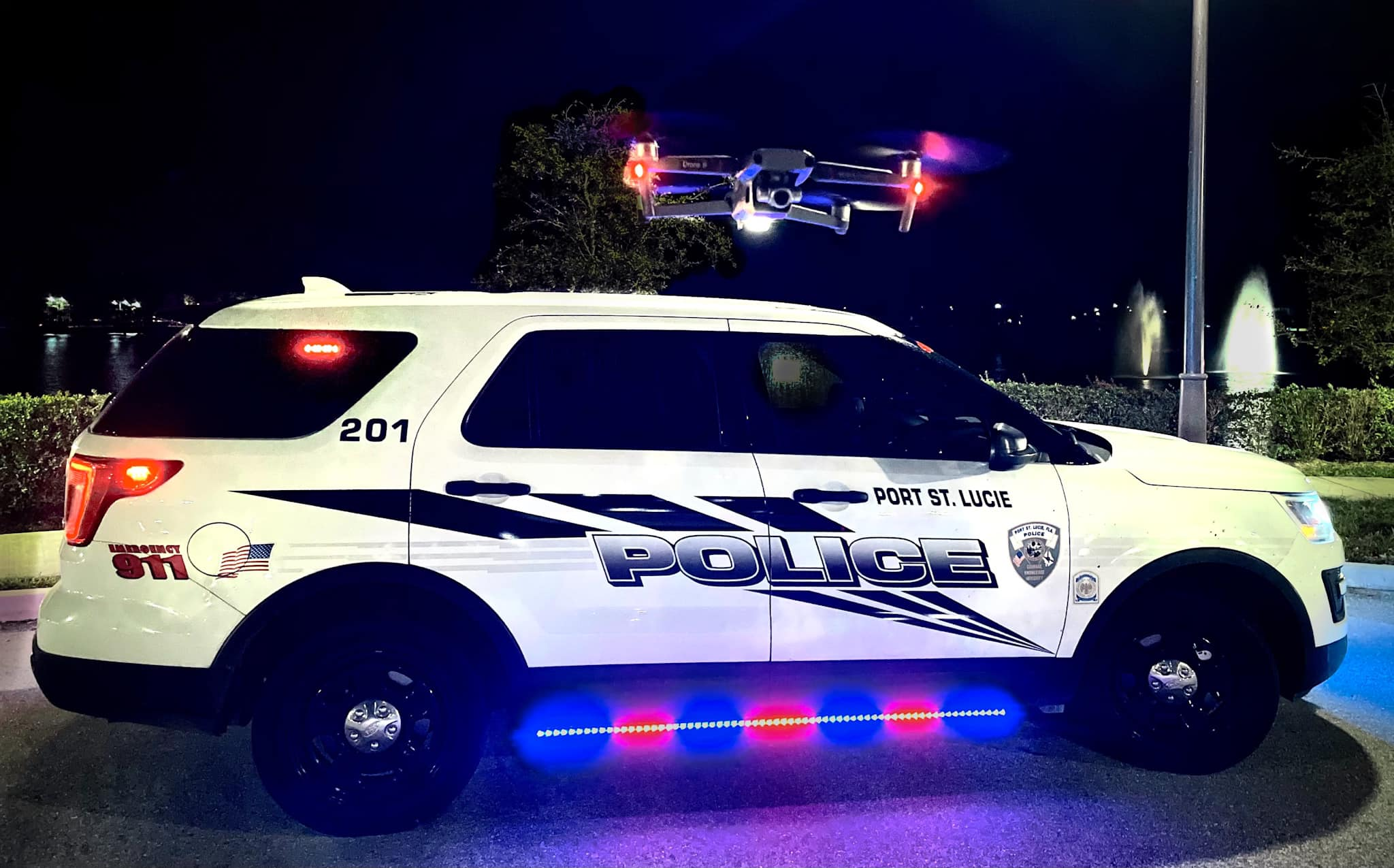 Police drone helps to find two young children who were missing in Florida