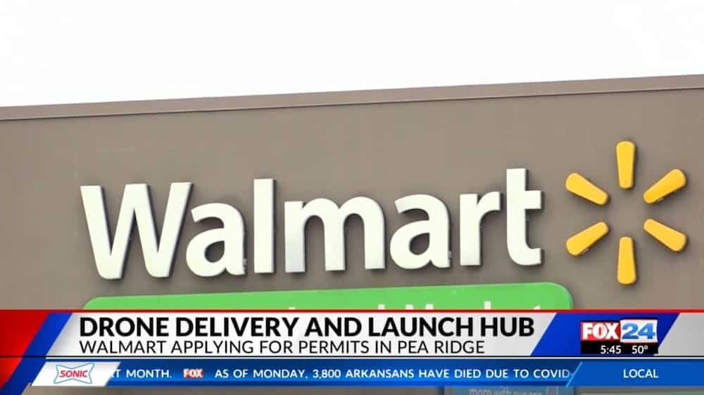 Walmart and Zipline partner to deliver medical supplies by drone