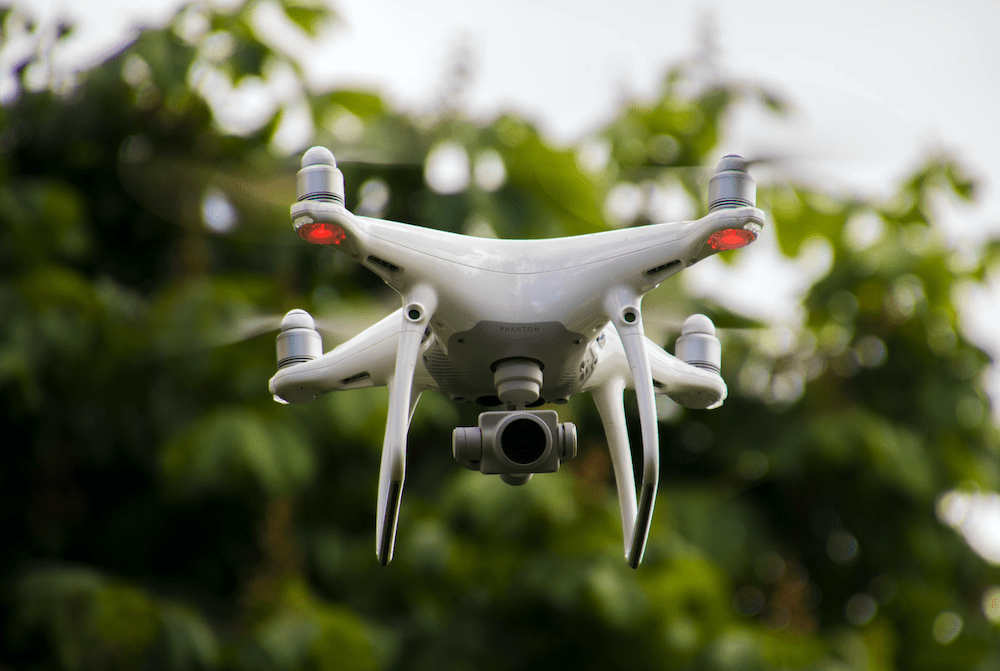 Dad kicks drone after confronting pilot for flying too low over backyard
