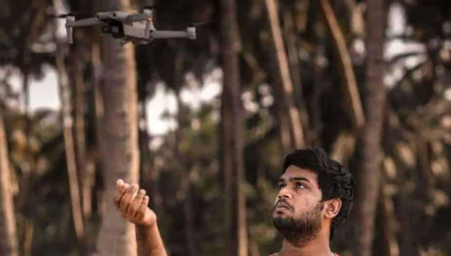 Teenager with drone rescues four drowning sea fishermen from India