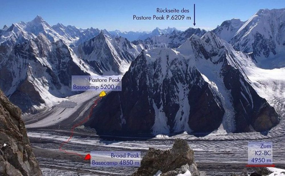 Drone used in search of missing climber near K2