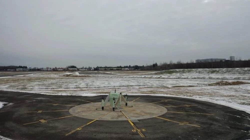 Modified APT drone tested by Bell in Canada