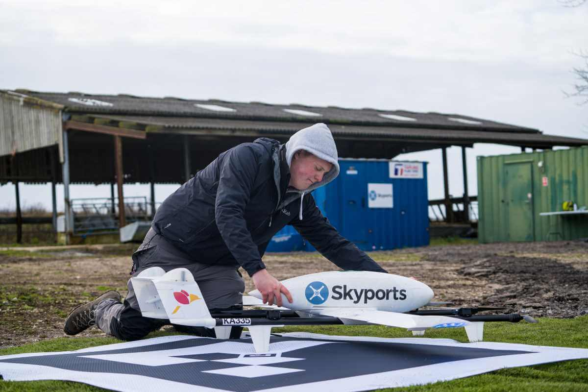 Swoop Aero and Skyports to offer UK-wide drone delivery service