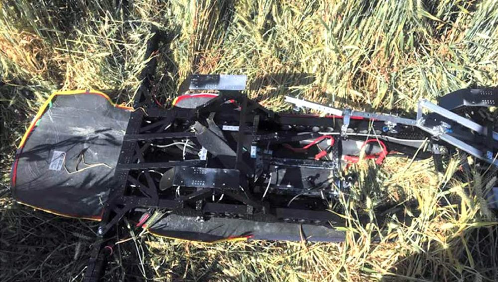 Airspeeder drone crashes near residential homes after climbing 8,000 feet