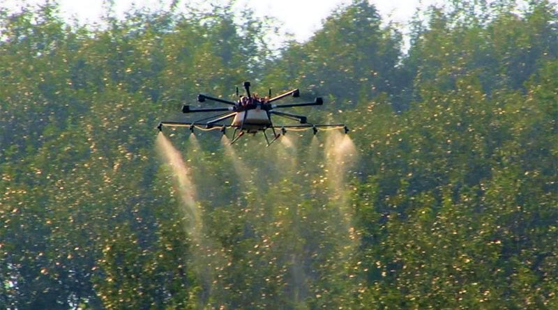 Google wants to experiment with a fire-extinguishing drone