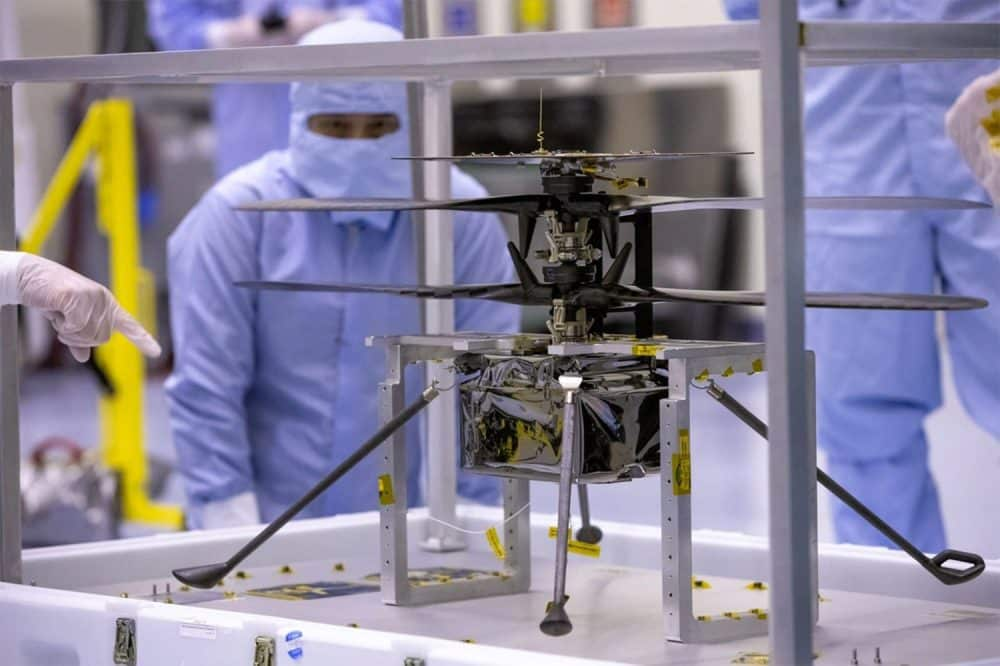 First interplanetary drone, Ingenuity arrives on Mars