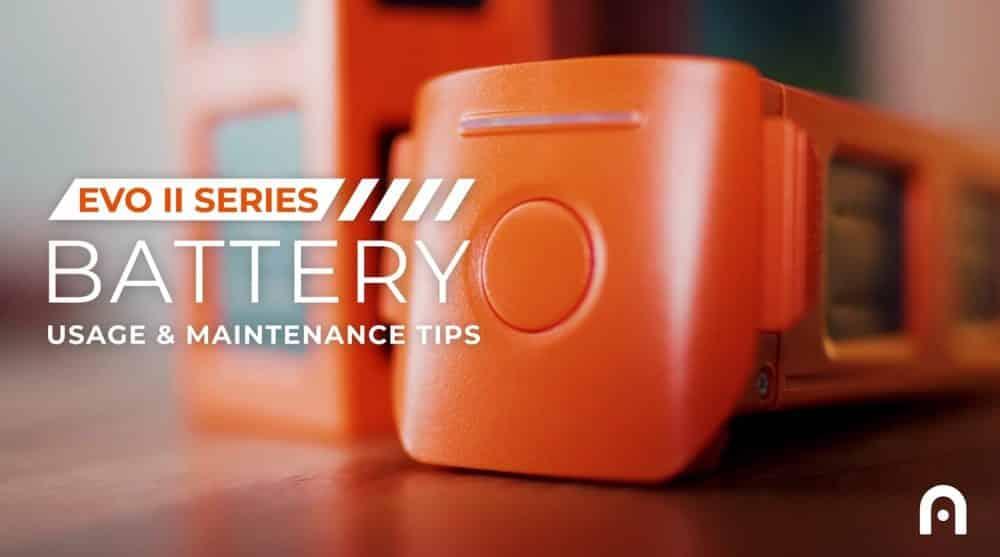 Autel Robotics releases EVO II battery maintenance video