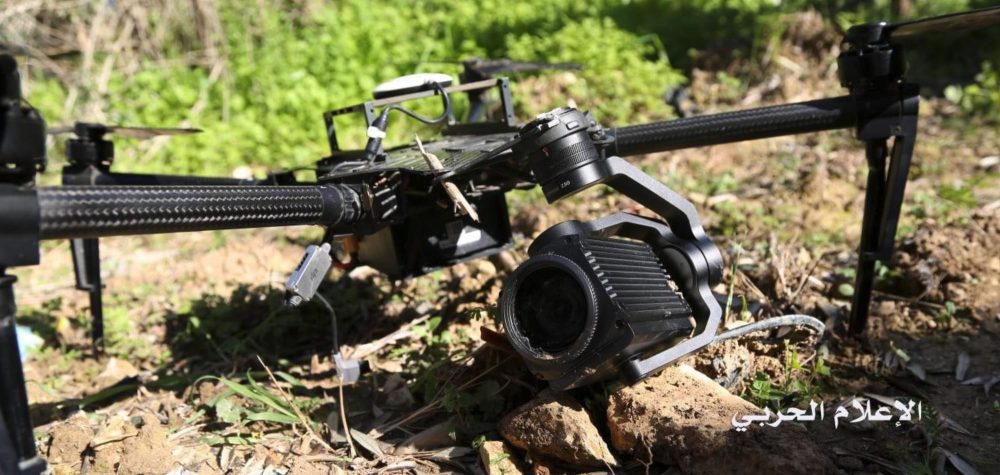 Israelian DJI Matrice 100 drone comes down in Lebanese territory