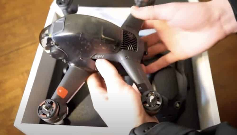 Unboxing video and specs of DJI FPV drone surfaced