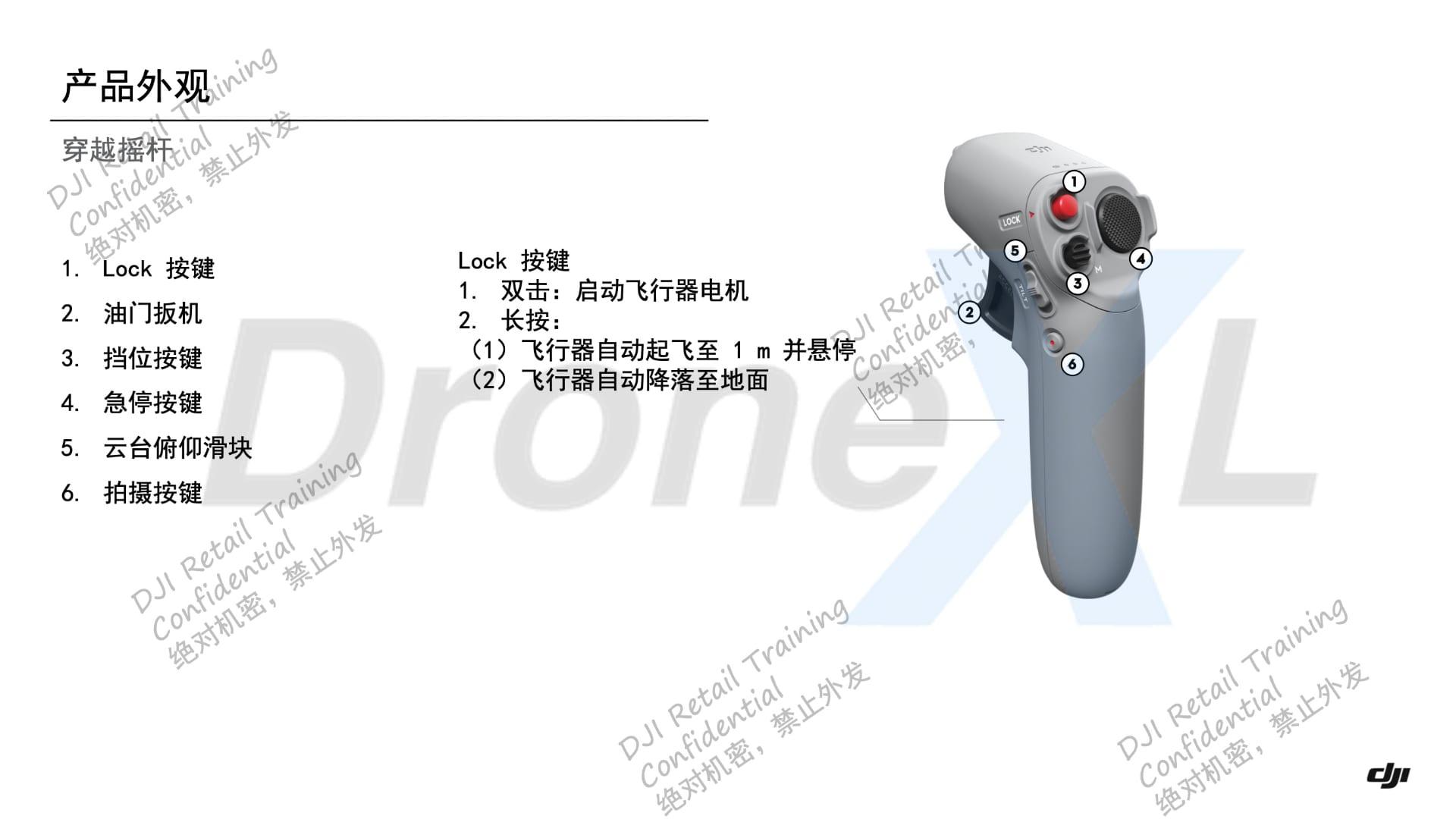 DJI FPV Manual Motion Controller