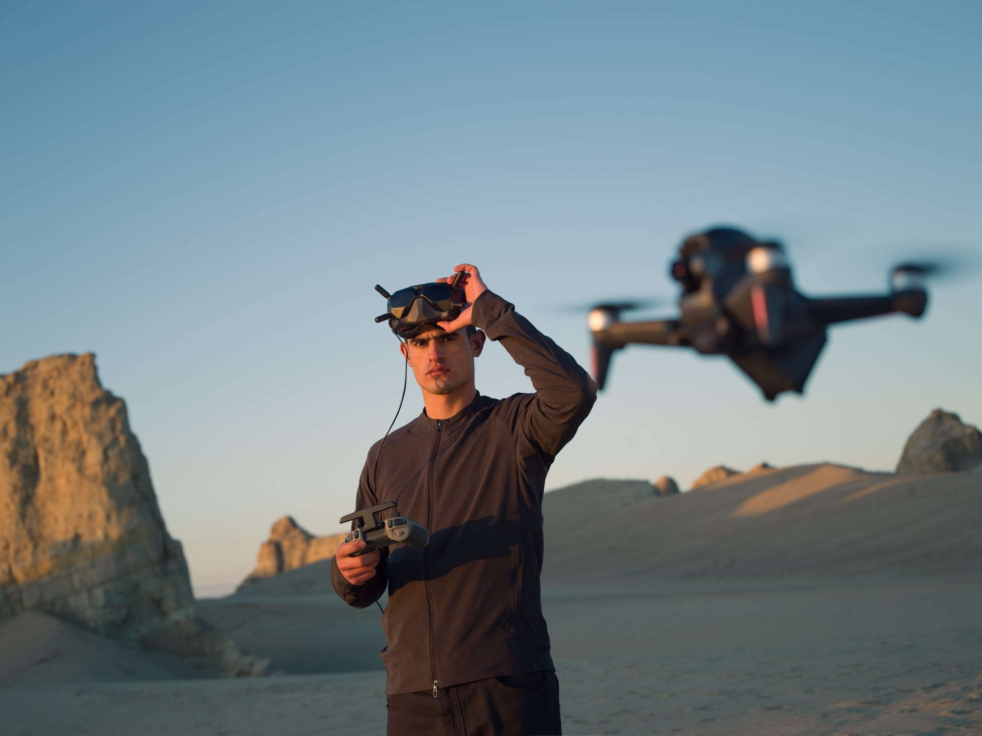 DJI FPV drone official launch and announcement