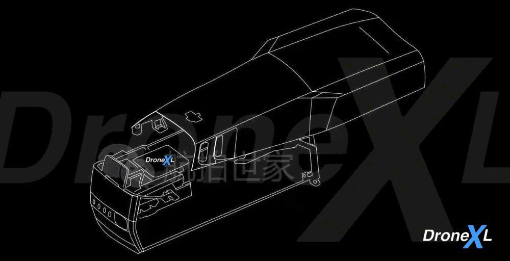 DJI Mavic 3 detailed drawings - Air 2S possibly gets a 1-inch sensor