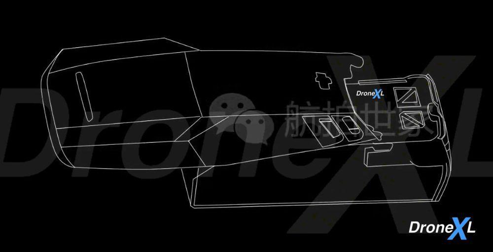 Detailed DJI Mavic 3 drawings - Air 2S possibly gets a 1-inch sensor