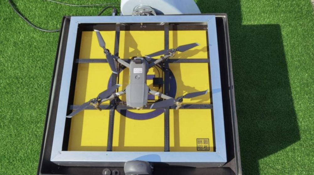 DJI Mavic 2 docking station developed by Chinese company