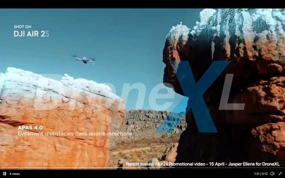 DJI Air 2S promo video appears ahead of launch