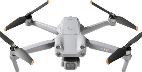 High-resolution photos of DJI Air 2S without watermark