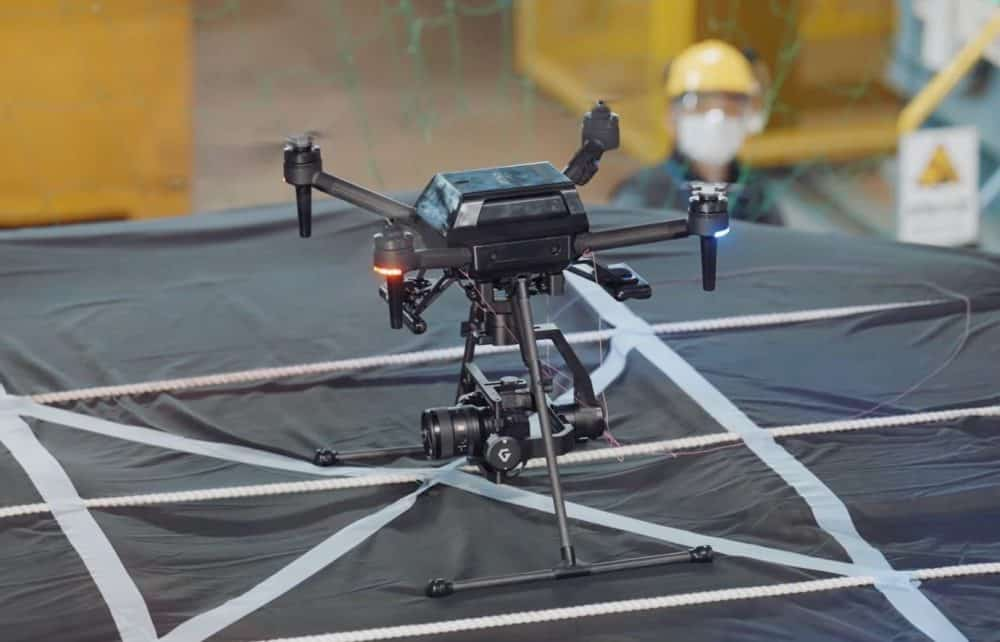 Sony's Airpeak drone undergoes tests in wind tunnel