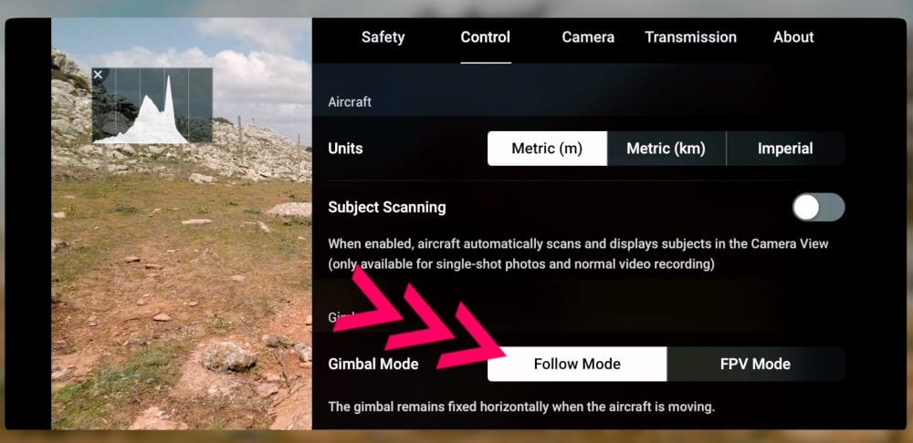 How to use the FPV gimbal mode on the new DJI Air 2S