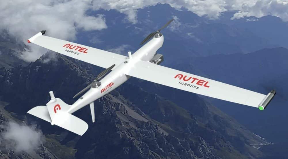 The Dragonfish VTOL drone has a flight range of tens of kilometers.