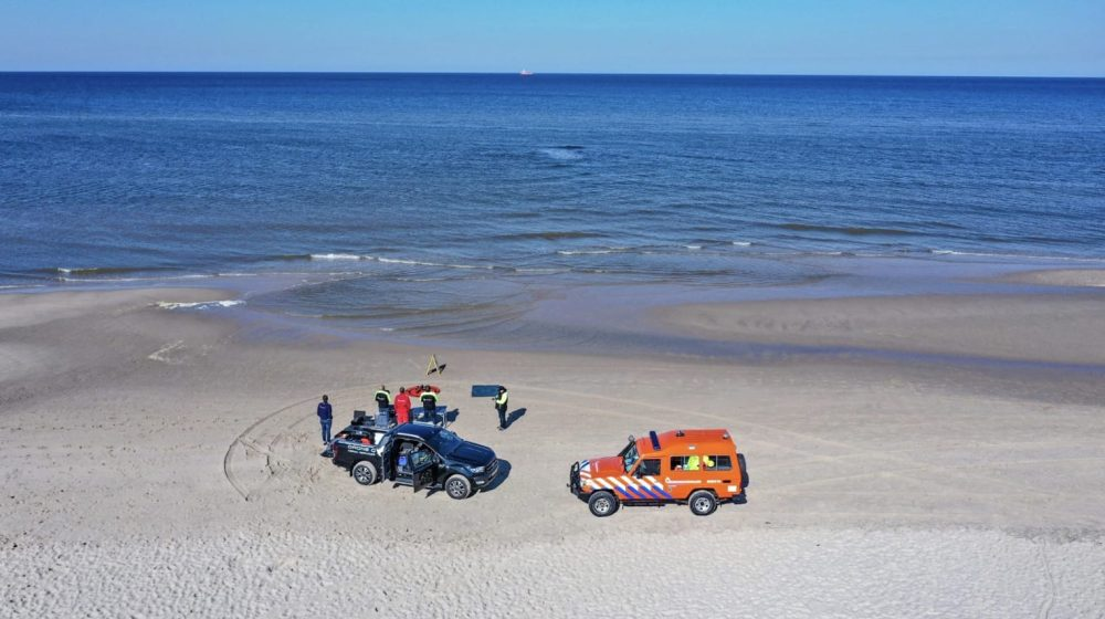 Dutch coastguard uses drones to locate rip currents and keep swimmers safe