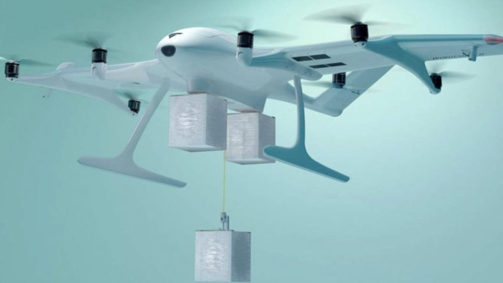 Wingcopter's new delivery drone makes up to three stops per flight